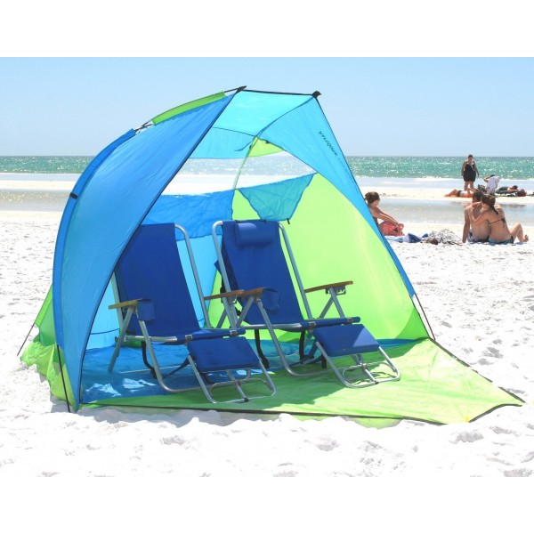 Pop Up Beach Shelters : Aerodome in beach shelter review the texas camping girl