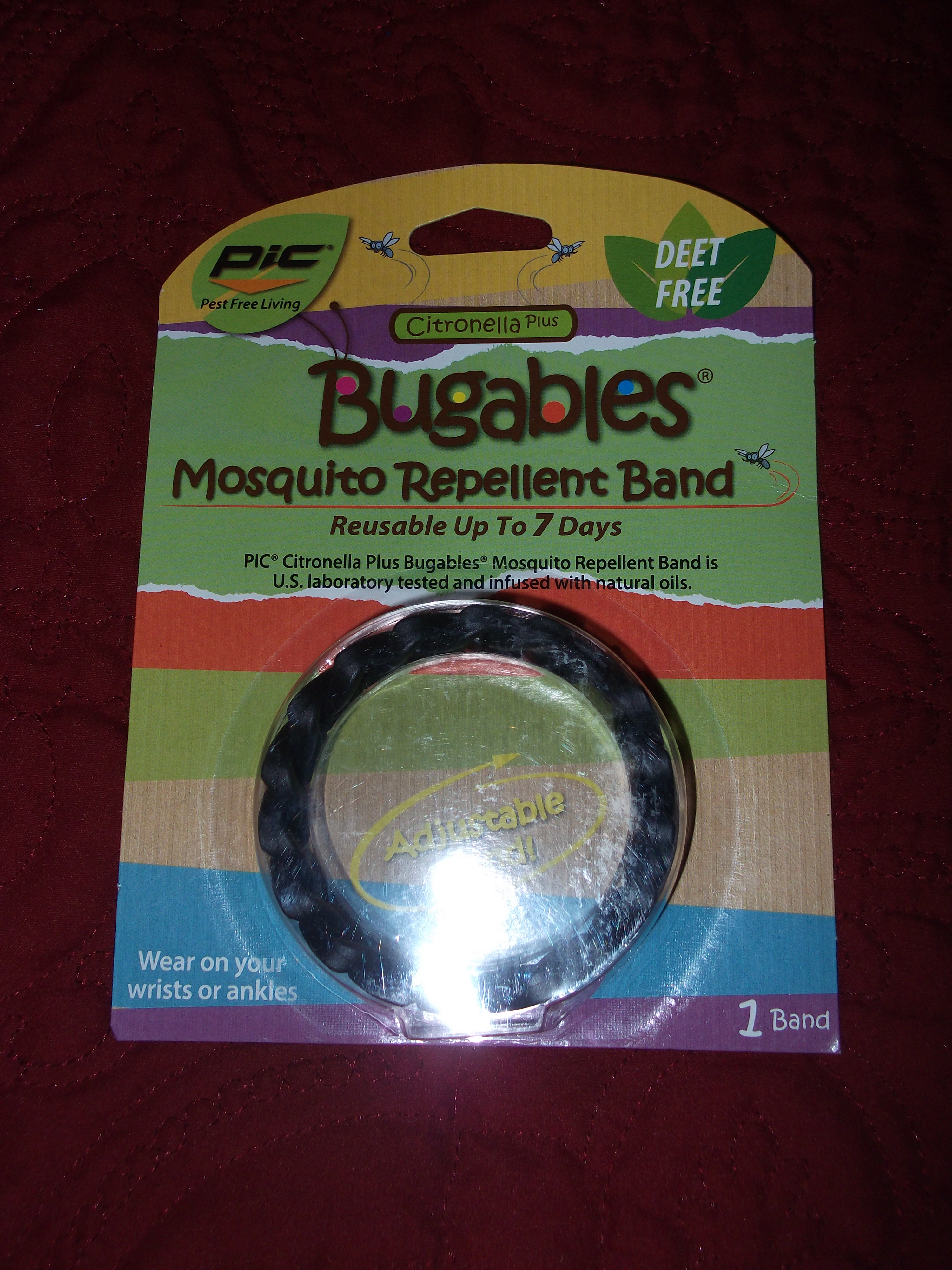 Bugables Mosquito Repellant Band Review