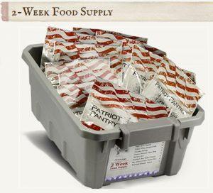 2 Week Food Supply