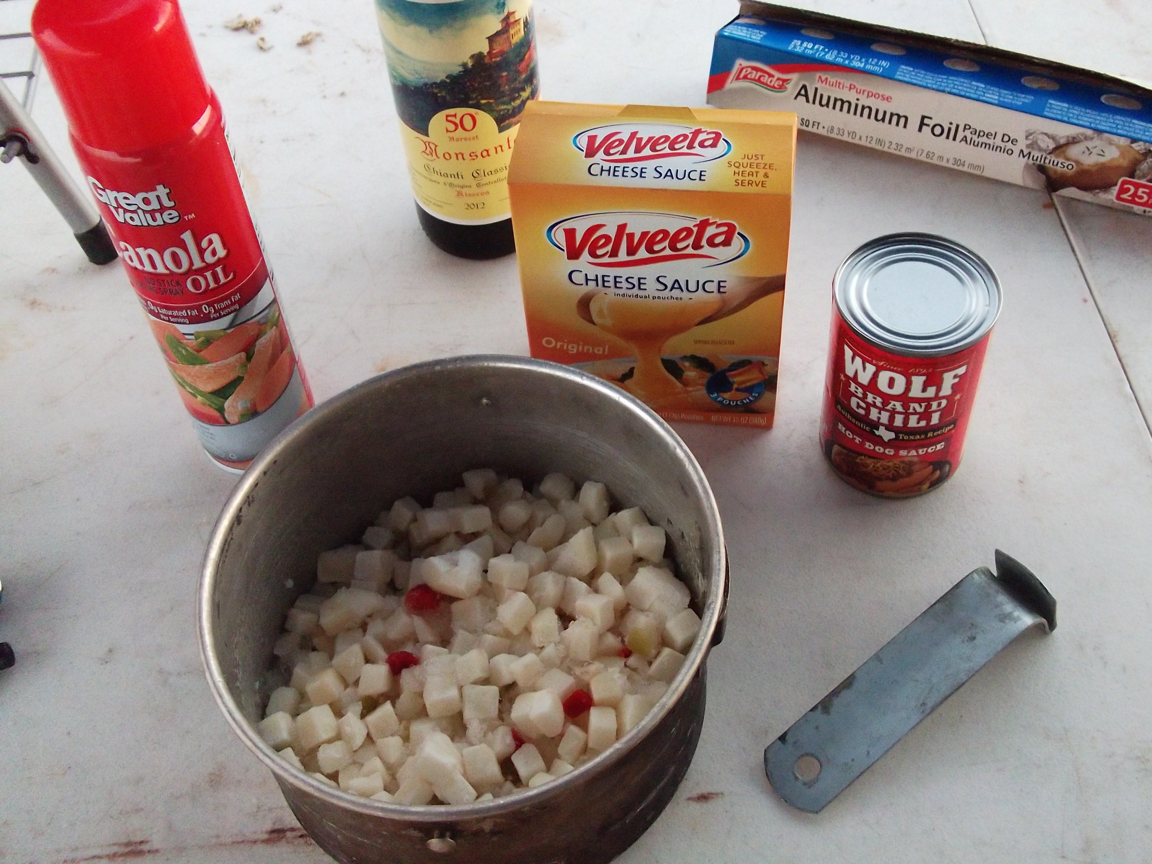 Velveeta Hot Dog Cheese Sauce