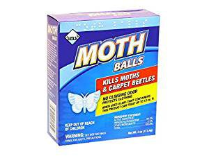 Mothballs repel snakes