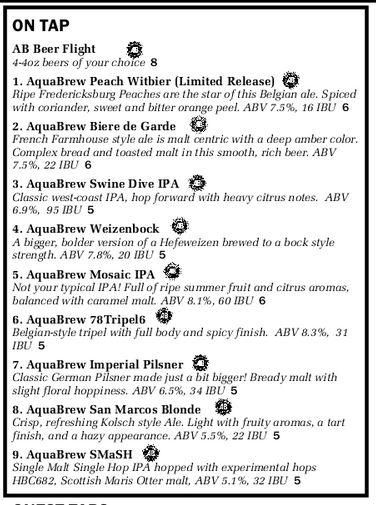 AquaBrew San Marcos